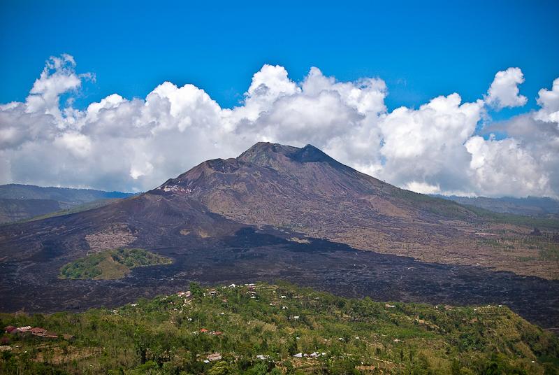 Кинтамани, вулкан Батур