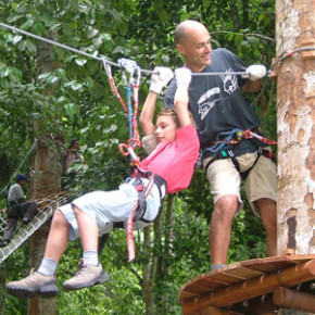 """Парк """"Супер деревья"""" на Бали"""