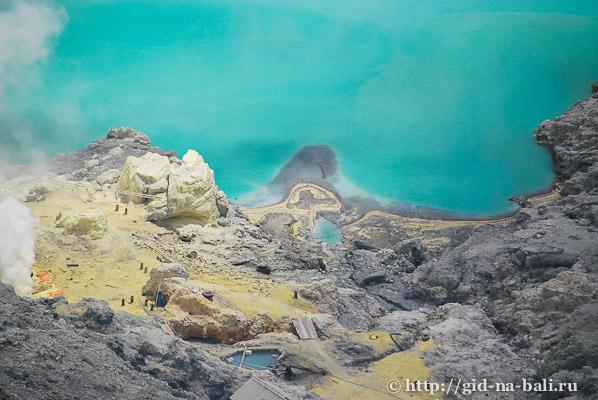 Вулканы Явы, Иджен