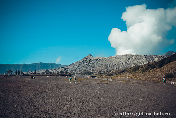 Вулканы Явы, вид на вулкан Бромо