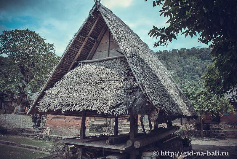 деревня Тенганан Бали