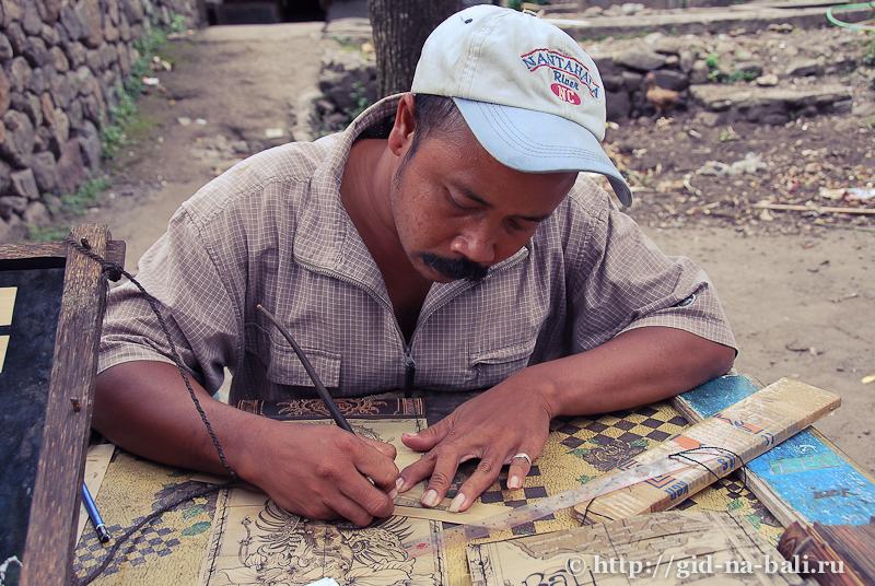 Деревня Тенганан, о.Бали