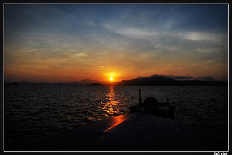 восход над Комодо